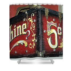 Shoe Shine Kit Shower Curtain