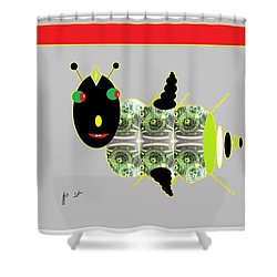 Shoofly Shower Curtain