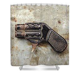Shoot Shower Curtain by Martin Bergsma