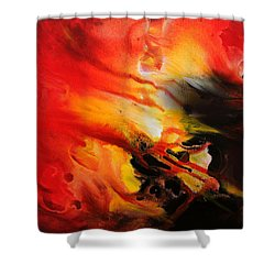 Shooting Star Shower Curtain by Kume Bryant