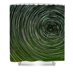 Shooting Star Trails Shower Curtain