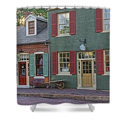 Shops S Main St Charles Mo Dsc00886  Shower Curtain