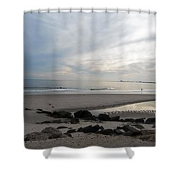 Shower Curtain featuring the photograph Shores Of Holgate by Elsa Marie Santoro