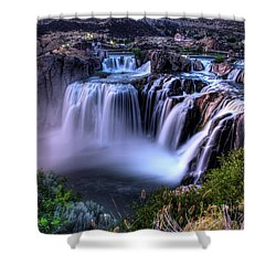 Shoshone Falls Shower Curtain