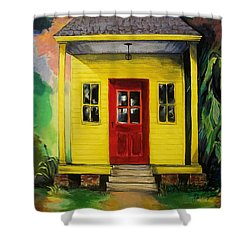 Shotgun House Shower Curtain