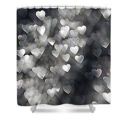 Showered In Love Shower Curtain by Beverly Stapleton