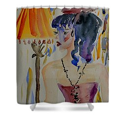 Showgirl Shower Curtain