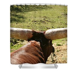 Shower Curtain featuring the photograph Showing Off My Rack by Carol Lynn Coronios