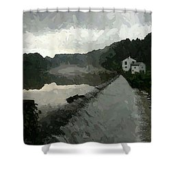 Shrouded Fluid Power Shower Curtain