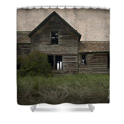 Shrouded In Mystery Shower Curtain by Sandra Bronstein