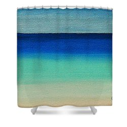 Shutter Me Sea Shower Curtain