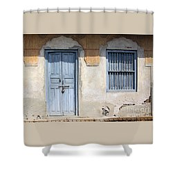 Shower Curtain featuring the photograph Shuttered #6 by PJ Boylan