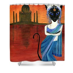 Siamese Queen Of India Shower Curtain by Jamie Frier