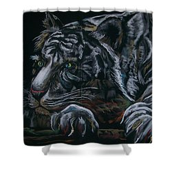 Siberian Tiger Shower Curtain