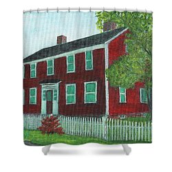 Sibson House Shower Curtain
