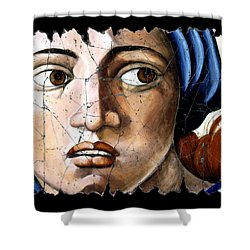 Sibyl Of Delphi Shower Curtain by Steve Bogdanoff