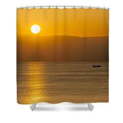 Sicilian Dawn Shower Curtain