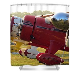 Side By Side. Oshkosh 2012 Shower Curtain by Ausra Huntington nee Paulauskaite