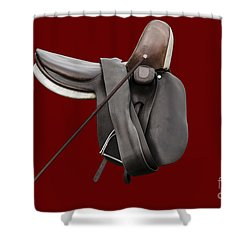 Sidesaddle And Crop Shower Curtain