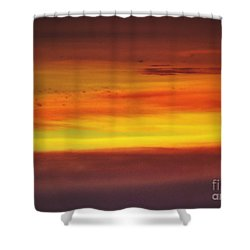 Sienna Sky Shower Curtain