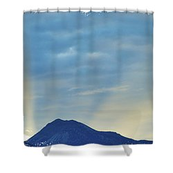 Sierra Sunset Shower Curtain