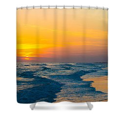 Siesta Key Sunset Walk Shower Curtain