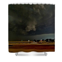 Shower Curtain featuring the photograph Signs Of A Supercell by Ed Sweeney