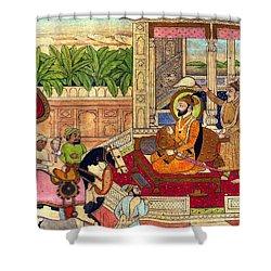 Sikh Guru Shower Curtain