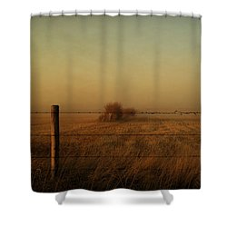Silence Of Dusk Shower Curtain