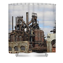 Silenced Behemoth Shower Curtain