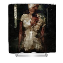 Silent Hill Nurse Shower Curtain
