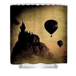 Silent Journey  Shower Curtain by Bob Orsillo