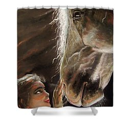 Silent Love Shower Curtain