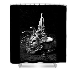 Silent Night In Venice Shower Curtain
