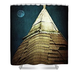 Silent Night Shower Curtain by Trish Mistric