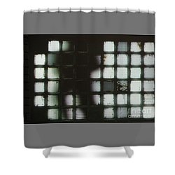 Shower Curtain featuring the photograph Shadow Previously Titled Silhouette by PJ Boylan