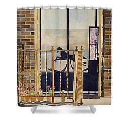 Silhouette Shower Curtain