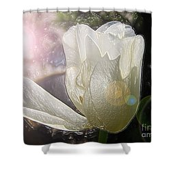 Siliconic Surreality Shower Curtain