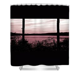 Silk And Champagne Shower Curtain