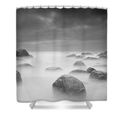 Silk Shower Curtain