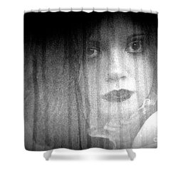 Silken Beauty Shower Curtain