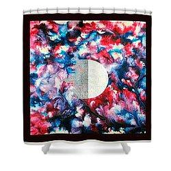 Silkworm Shower Curtain by Sumit Mehndiratta