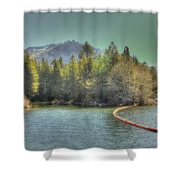 Silver Lake 3 Shower Curtain