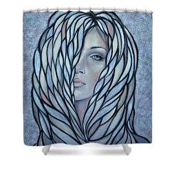 Silver Nymph 021109 Shower Curtain by Selena Boron