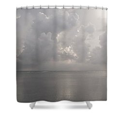 Silvern Sea Shower Curtain