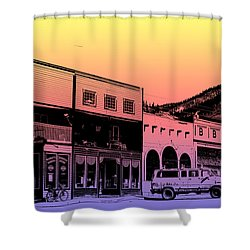 Silverton Colorado Shower Curtain by Janice Rae Pariza