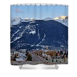 Silverton's Mountain Majesty Shower Curtain