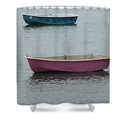 Simplicity Harbor Shower Curtain