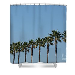 Simply Palms Shower Curtain