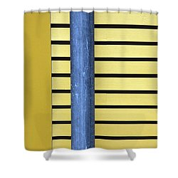 Simply Straight Shower Curtain by Karol Livote